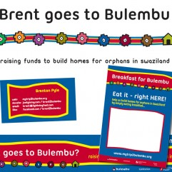 Brent goes to Bulembu Charity