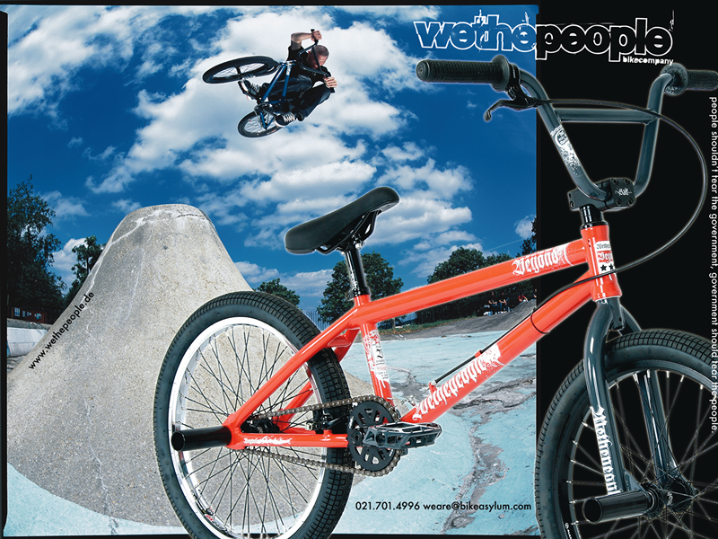 Action sports magazine advert